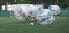 zorb football Oxfordshire Bubble soccer